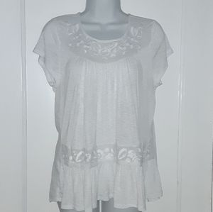 Cupio white blouse
